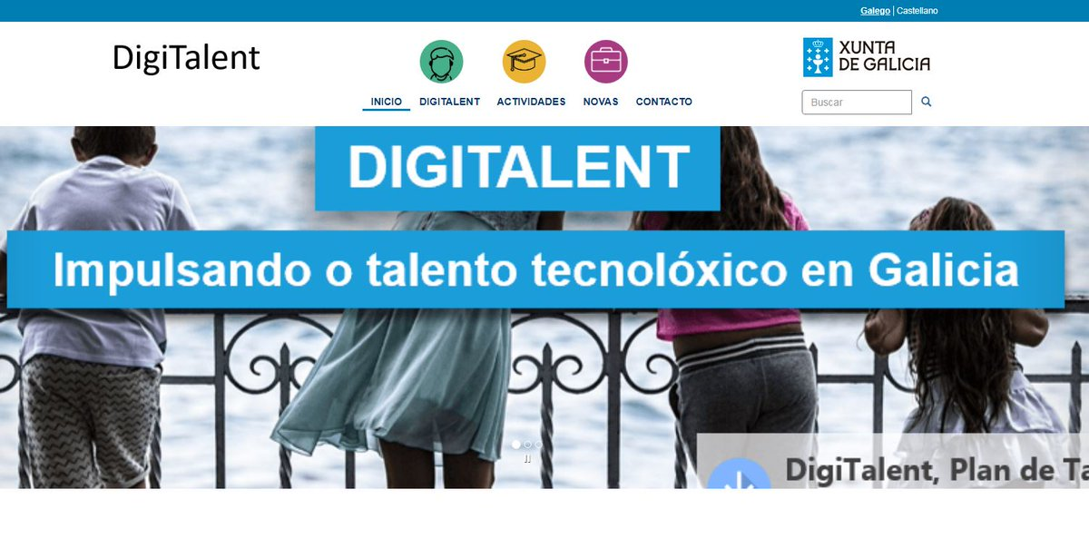 Novo portal web do Plan Digitalent