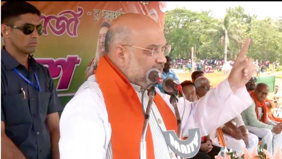 बंगाल को कंगाल करने के साथ-साथ कानून व्यवस्था को ममता बनर्जी ने तार-तार कर दिया है।  - श्री @AmitShah जी  #BharatBoleNaMoNaMo @poonam_mahajan