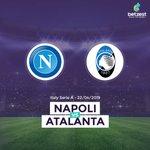 Image for the Tweet beginning: Napoli 🆚 Atalanta Today⏳19.00 Napoli's