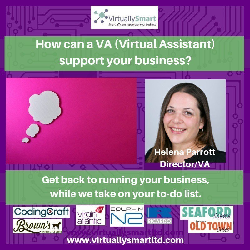 Need to free up your time to run your business? Virtually Smart Ltd has the answer. Contact Helena Parrott today T: 07954 994 769 E: helena@virtuallysmartltd.com Watch our video to find out more  http:// wu.to/mH7tV0  &nbsp;   #VA #VirtualAssistant #ExecutiveSupport #BusinessSupport<br>http://pic.twitter.com/KfxCodrqOd