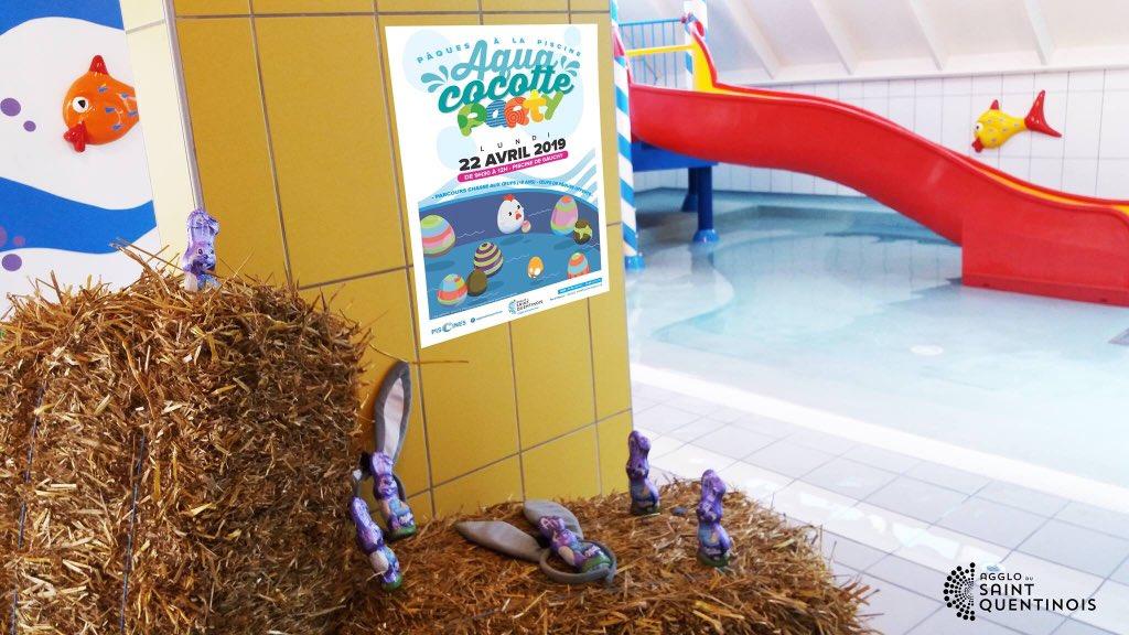 Les cloches à la piscine de Gauchy sont passées pour l'Aqua cocotte party #paques #paques2019 #AquaCocotteParty #gauchy https://t.co/FladqVTcdB