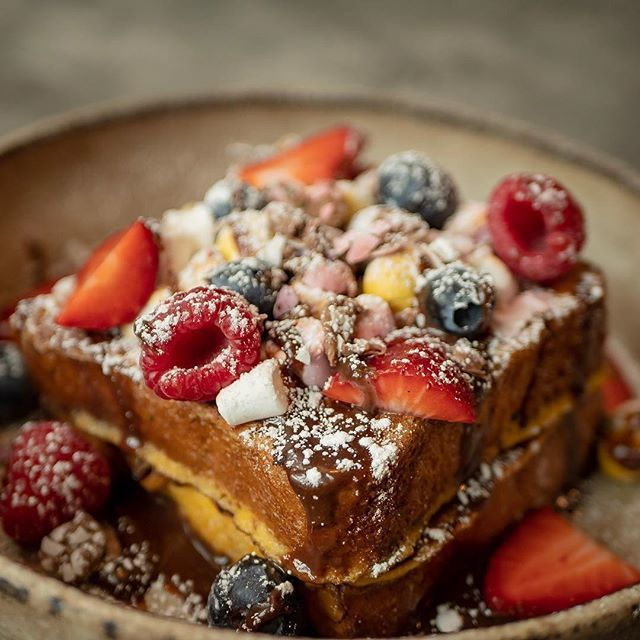 Last chance to try our Easter specials at Barton Arcade and Spinningfields. 👆🏻Mini Eggs and Marshmallow French Toast #tasty