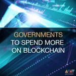 Image for the Tweet beginning: Government spending on blockchain-related projects