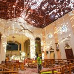 Image for the Tweet beginning: Easter Sunday in Sri Lanka,