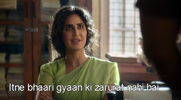When a website asks you to read Terms and Conditions. #BharatTrailer