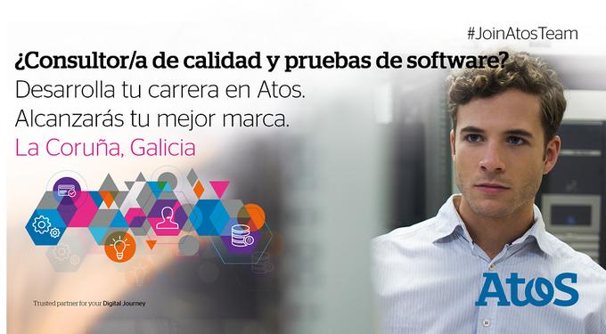 ¿Te apasiona la Calidad y #Testing? En #Coruña Tenemos un equipo puntero ¿te apuntas?#JoinAto...