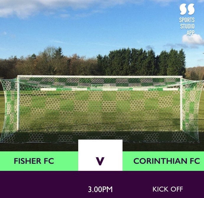 GAME DAY | It's the penultimate game of the season with #CFC on the road for the last time as #TheHoops travel to @FisherFC in the @SCEFLeague - 3pm Kick off at the St.Pauls Sports Ground