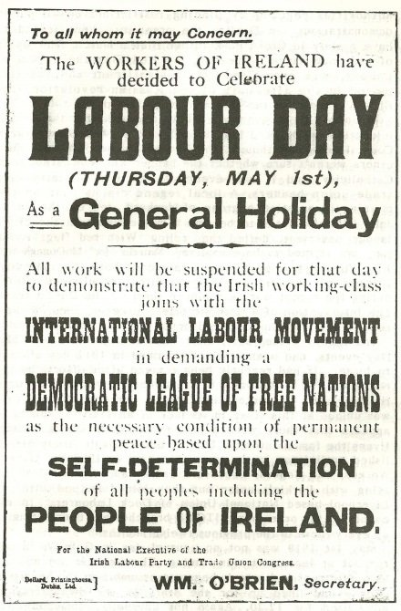 Red flags in the breeze: May Day1919 comeheretome.com/2019/04/22/red…