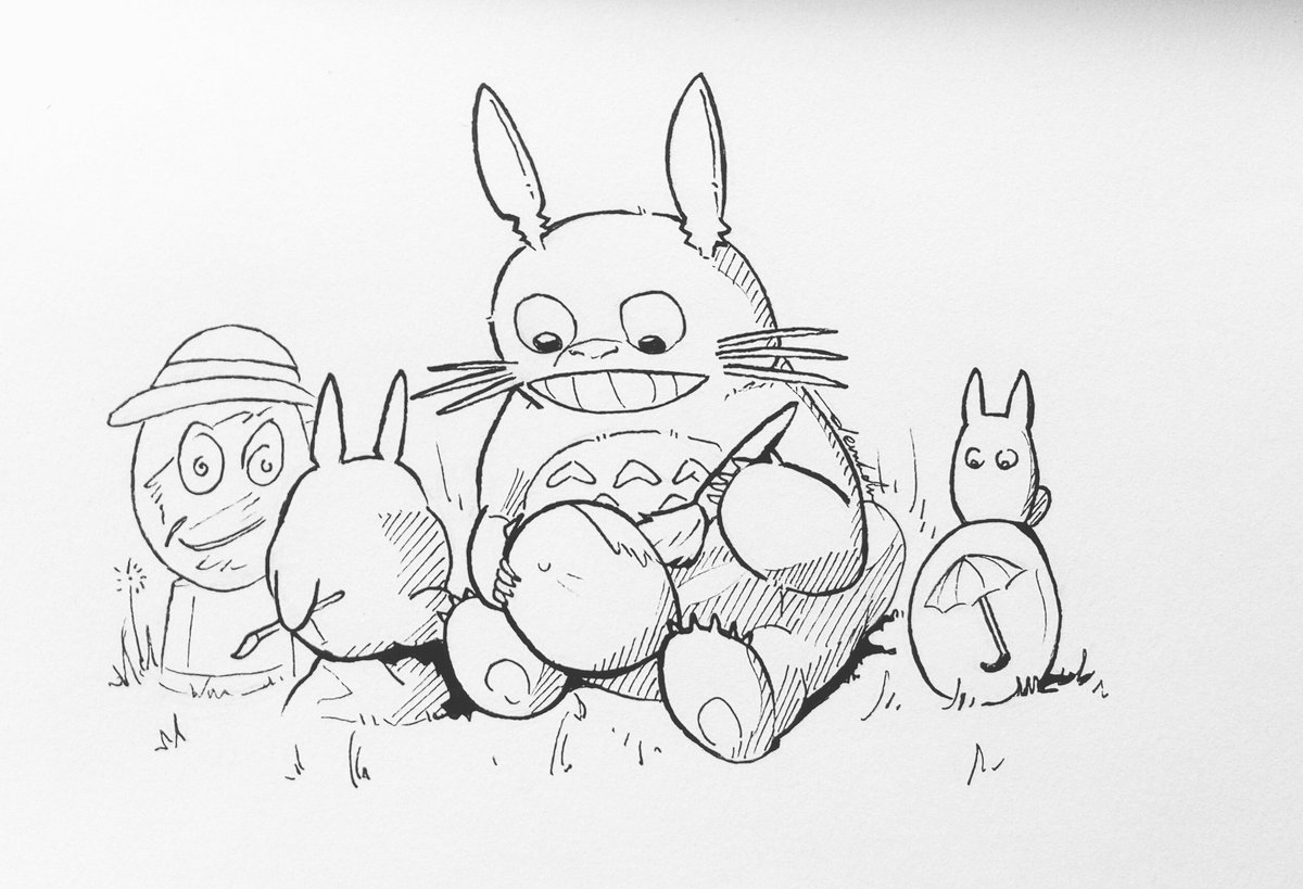 Happy Easter 🥚 #dailyart #dailyillustration #totoro #myneighbourtotoro #happyeaster #easter https://t.co/v8qATKjcOE
