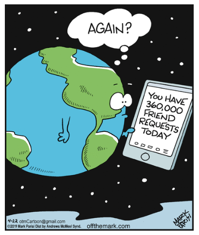 No one is more popular than Earth today   Happy #EarthDay