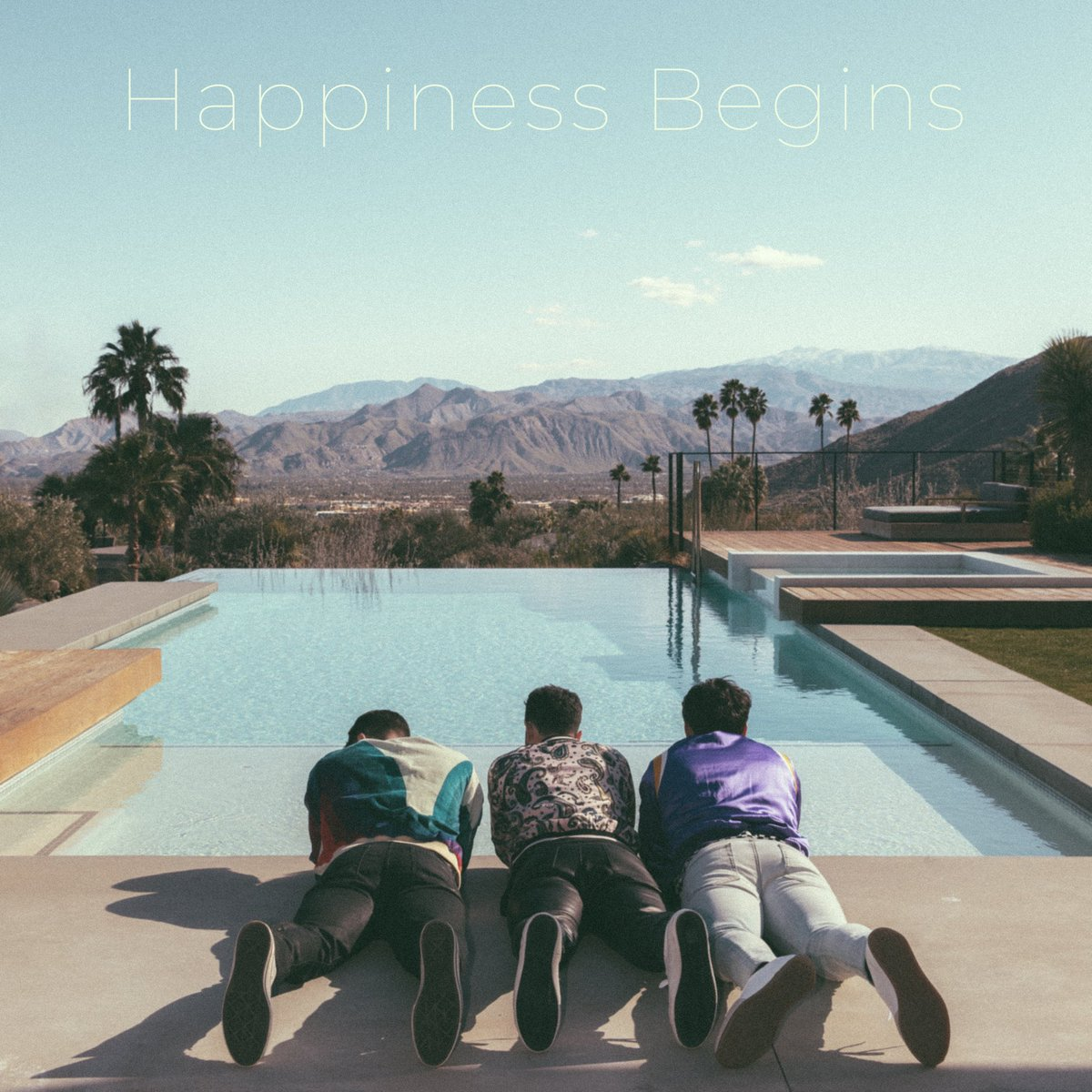 """New Jonas Brothers Album Cover for """"Happiness Begins"""" Sparks Fan Trolling"""