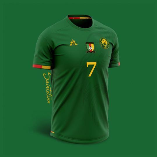 180b25d9ca camaroes acerta com a le coq sportif artista imagina novas camisas para  opais
