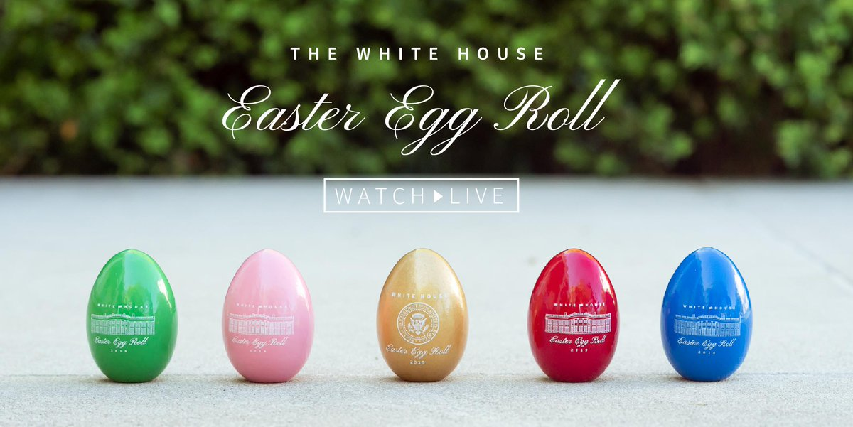 White House Easter Egg Roll rolls on for 141st year, the third for Trumps