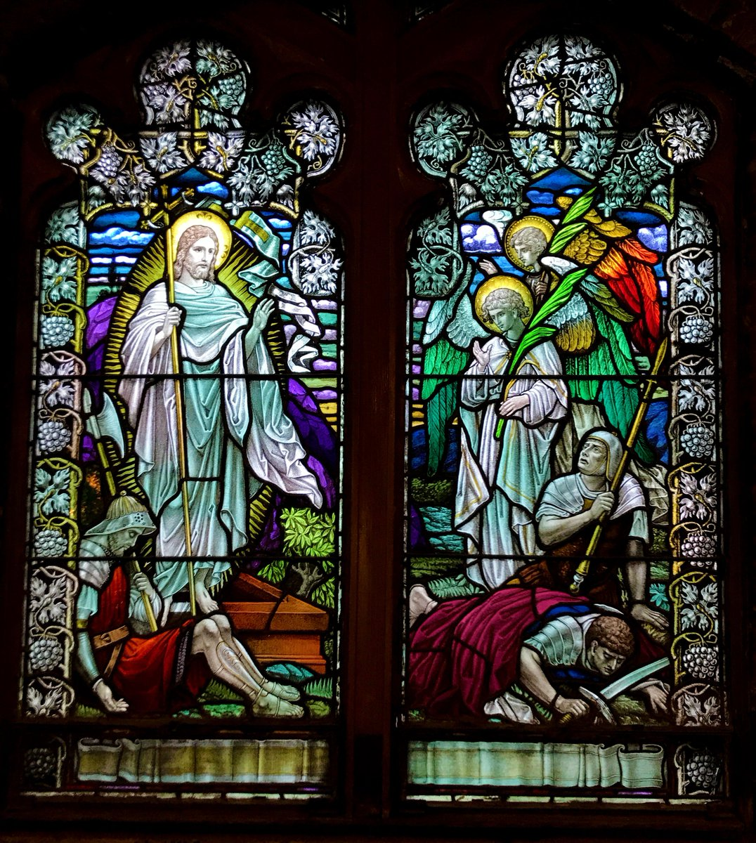 test Twitter Media - Happy #Easter from all of us at Cathedral High School!  📷 of stained glass window depicting the Resurrection formerly in Cathedral Convent chapel, now in our CHS Applied Learning Center lobby. https://t.co/OV1dI5rg9c