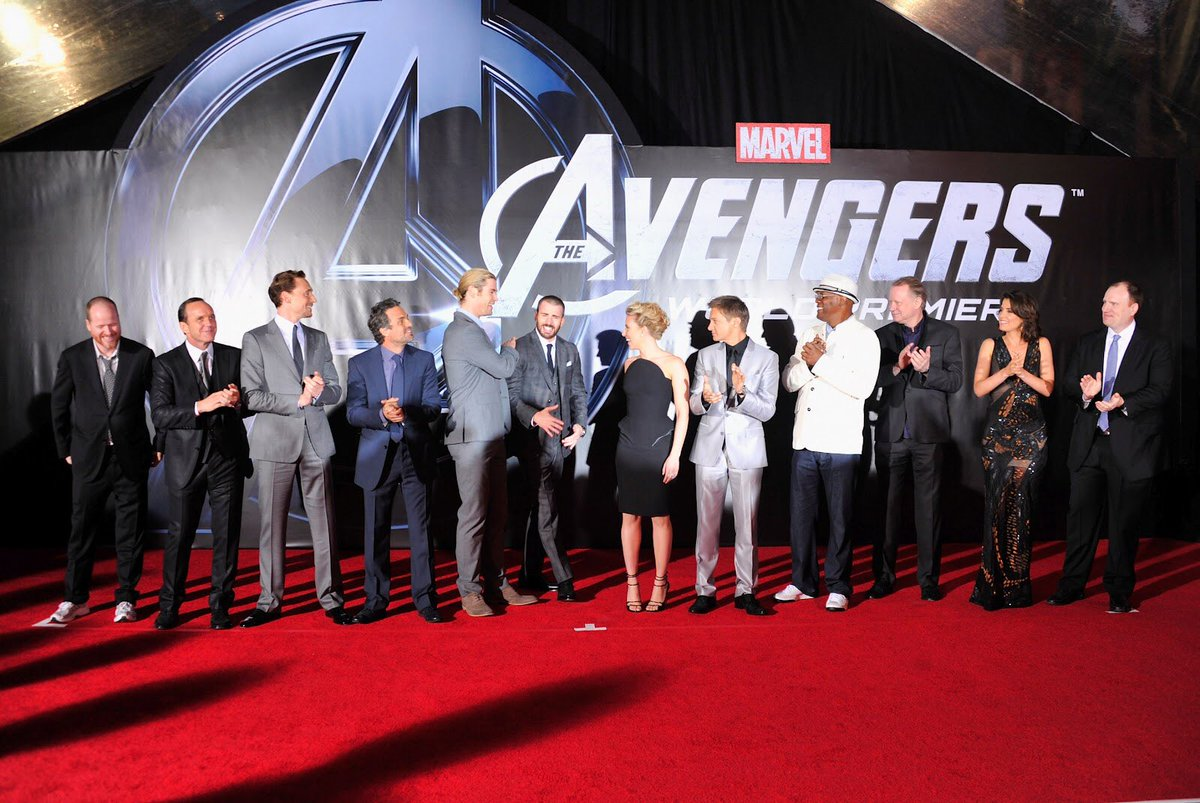 today's the day. this is it. this is going to be their last avengers red carpet premiere. they've being doing this for over 10+ years, and this is the end. we are quite literally in the endgame now. #EndgamePremiereLA<br>http://pic.twitter.com/HklBGFcYFe