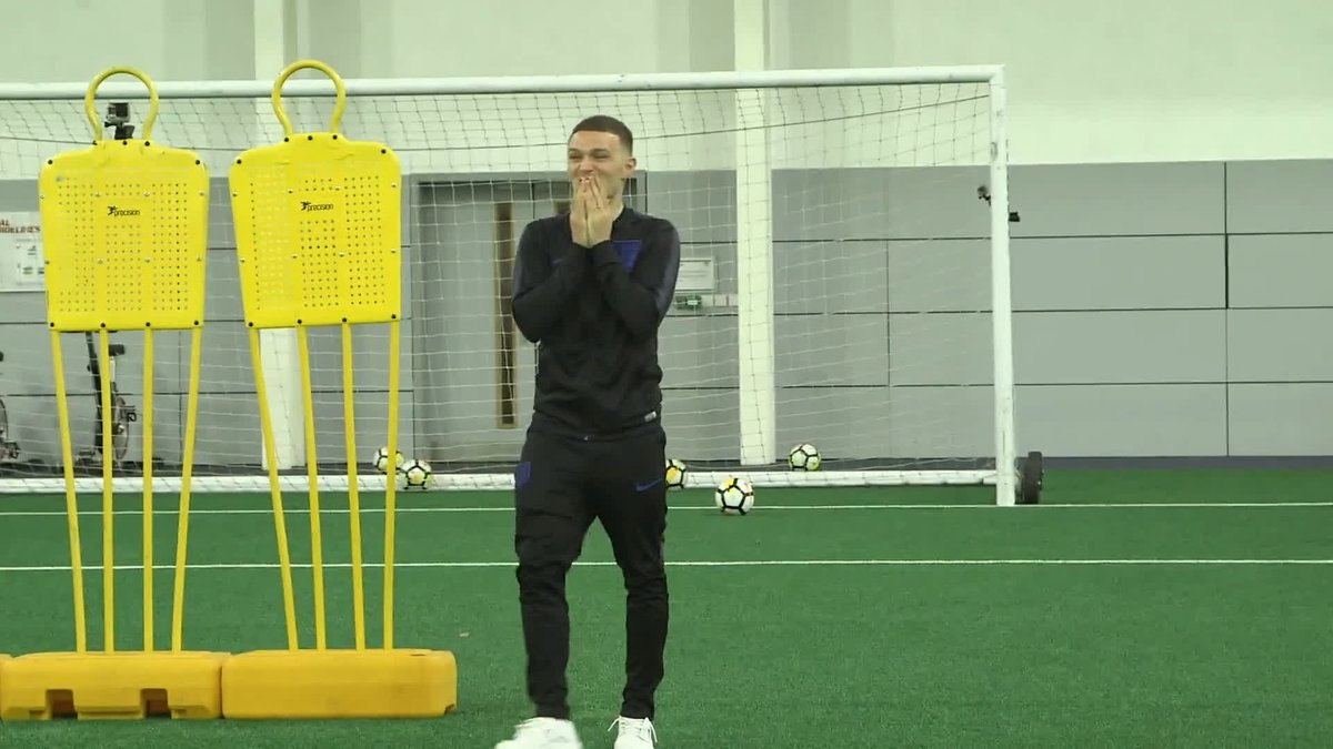 """""""That was so close!""""  With some tips from the man himself, can @CraigxMitch replicate THAT @trippier2 free-kick?  👉 https://youtu.be/SogKo3t73x4 👈"""