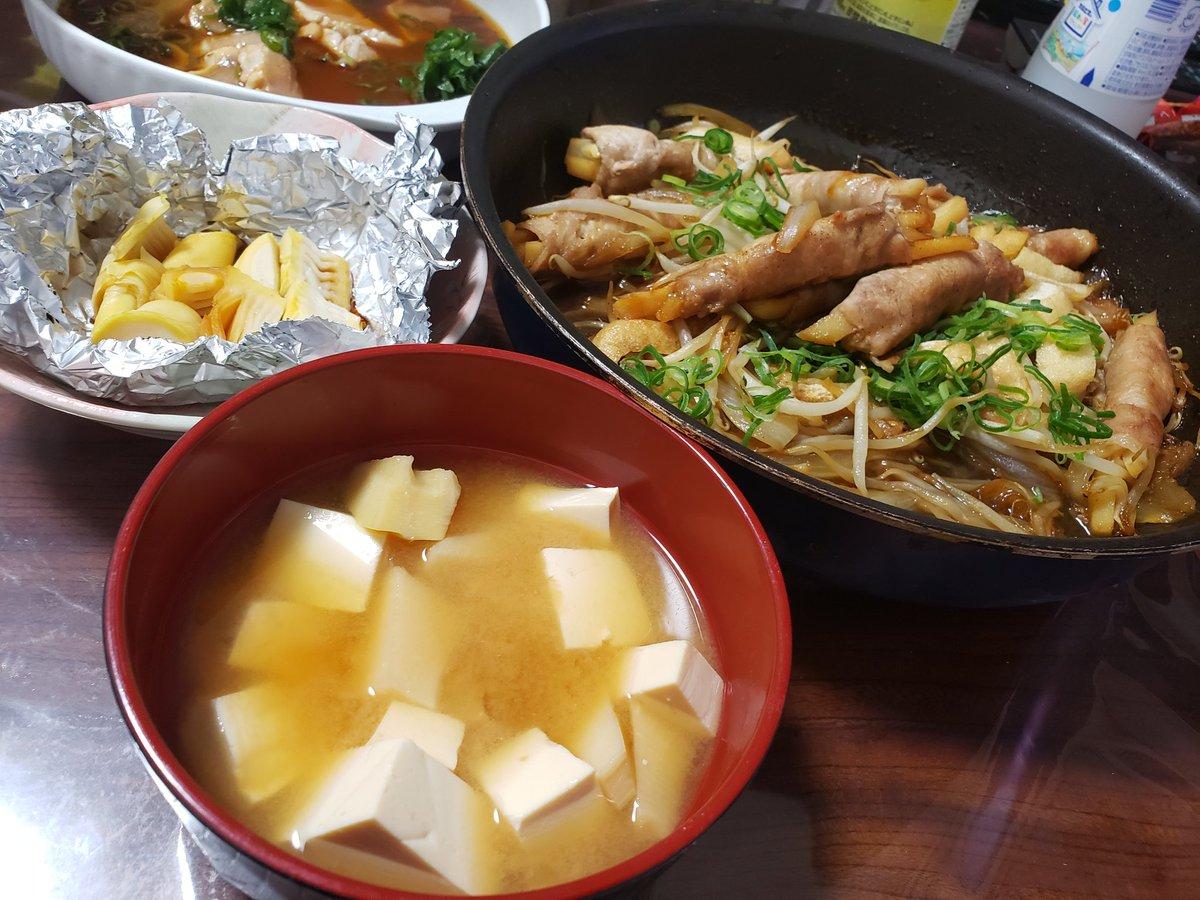 タケノコ 味噌汁