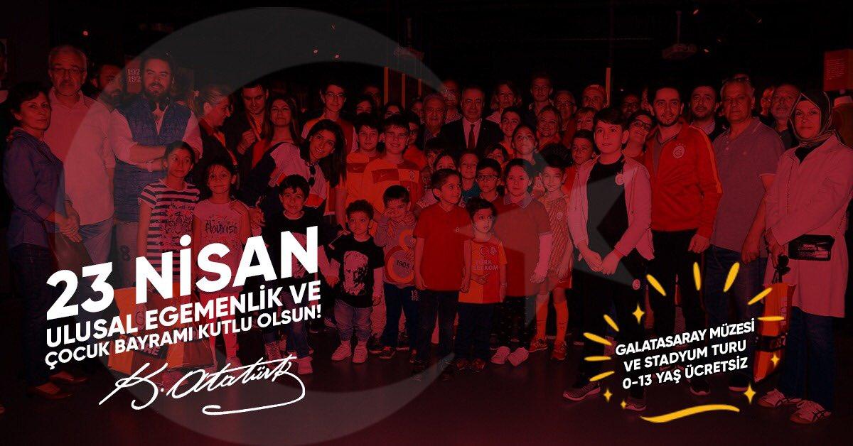 Galatasaray SK's photo on 23 Nisan Ulusal Egemenlik