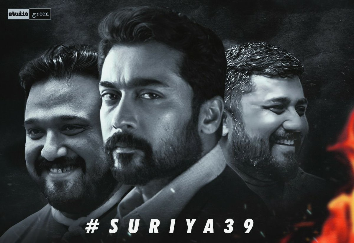 Sai Sai 😇 💥 #Suriya39Announcement   We are thoroughly Elated to Announce that @directorsiva  Will helm #Suriya39 🔥  Expectations Skyrocketing 🚀  This is a Guaranteed Festival for @Suriya_offl Anna's #AnbanaFans 😎👍🏼👍🏼