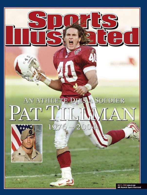 Today is the 15 year anniversary of a tragic event.  My hero, Pat Tillman, chose to forgo a 3yr/$3.6M contract to serve his country along side his brother. He was killed at Bagram Afghanistan at the same base I was deployed. He is a true hero in every sense of the word #PT40 <br>http://pic.twitter.com/F7lNOPgYY6