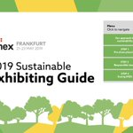Image for the Tweet beginning: #IMEX19 Exhibitors: be sure to