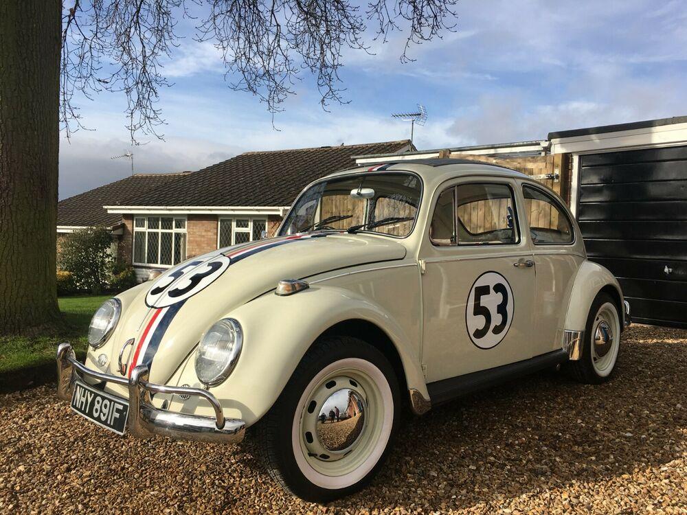 Uk Classic Cars On Twitter Ebay Classic Vw Beetle Herbie Replica Https T Co Vi7m4qj9f9 Classiccars Cars