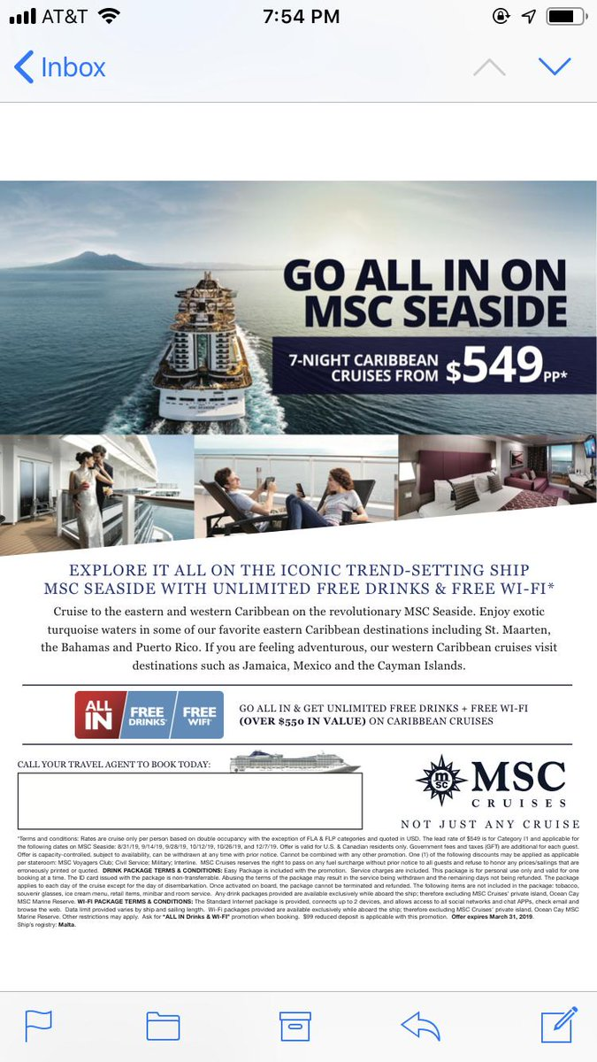 Great pricing on MSC Cruises!  Call Prestige now at 800-359-0517 and reference preferred ID 15262  #LetsDoThis  #travellife<br>http://pic.twitter.com/UYVCwWEVk5