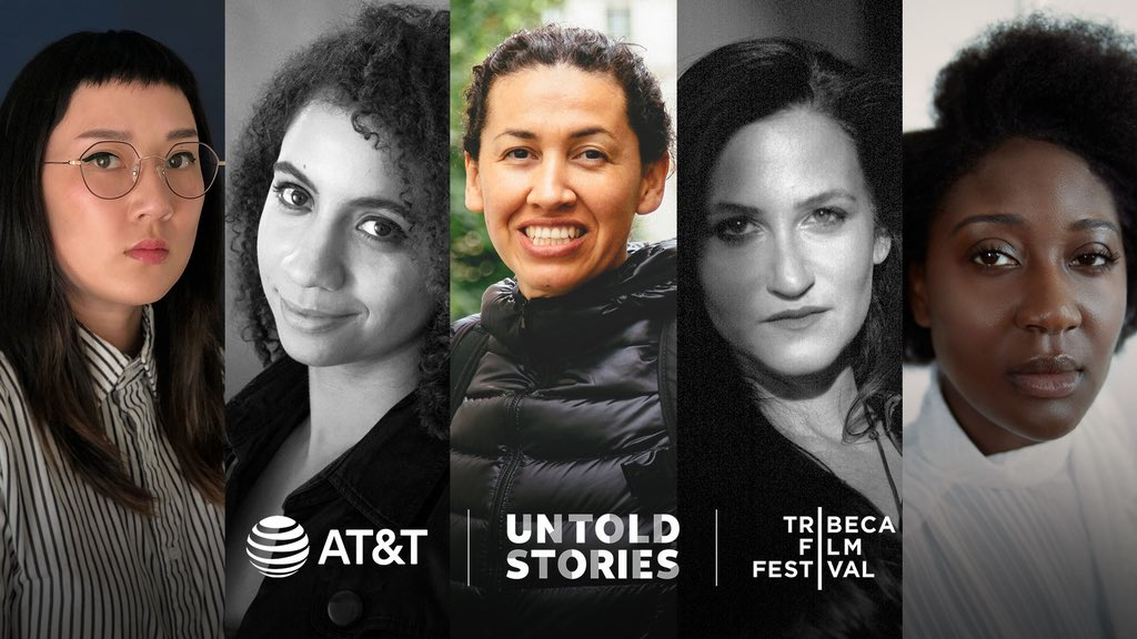 LIVE this AM! For the third year in a row, we're collaborating with @Tribeca to help bring underrepresented filmmakers' stories to life. Watch the #ATTUntoldStories finalists pitch at 9AM EST to find out who will win this year's $1M grant. 📽