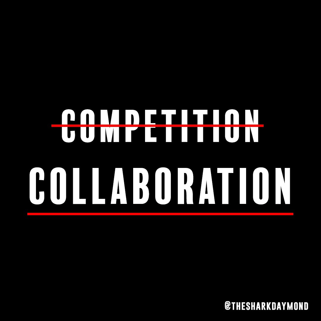 Two is always greater than one. Aim to collaborate, not compete. #MotivationMonday <br>http://pic.twitter.com/b6bTmC0j9V