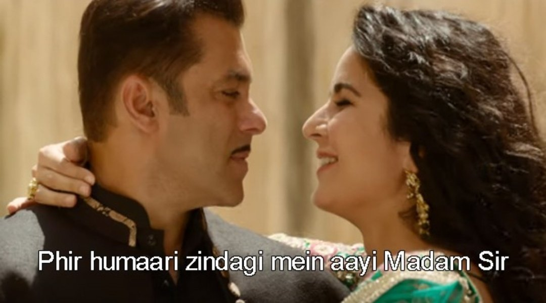 When you date a girl from Bangkok. #BharatTrailer