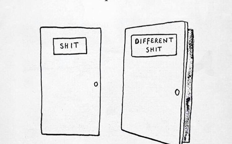 When one door shuts, another one opens #mondaythoughts <br>http://pic.twitter.com/DppSqII5l8