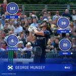 💪 147 runs  😱 39 balls 💥 20 sixes 6️⃣ sixes in an over  @CricketScotland's @GeorgeMunsey smashed a 25-ball 💯 for @Gloscricket Second XI yesterday!  READ 👇 https://t.co/HIDwmBzpKr