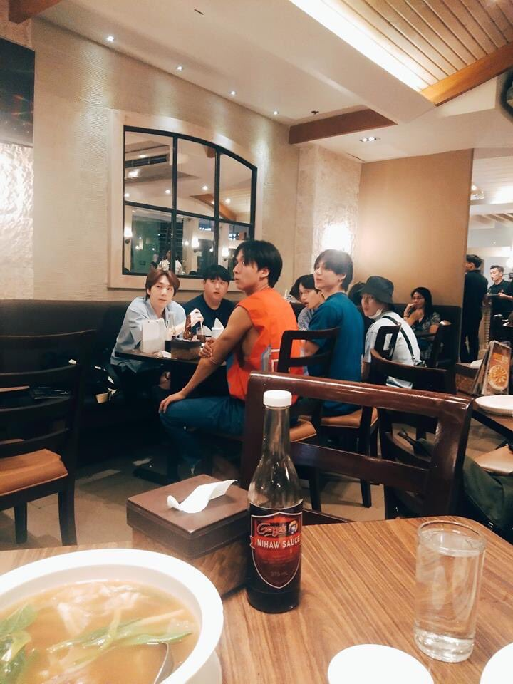 #HASUNGWOON, KAI, TAEMIN, and Timoteo  together in cebu City, Philippines. Looks like the squad is here.  <br>http://pic.twitter.com/S5ZGOX2tZu