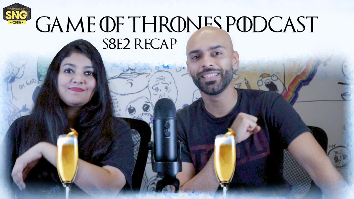 Check out the S08E02 #GOT recap #SnGPodcast Link: https://youtu.be/RMC9mbQ-euc