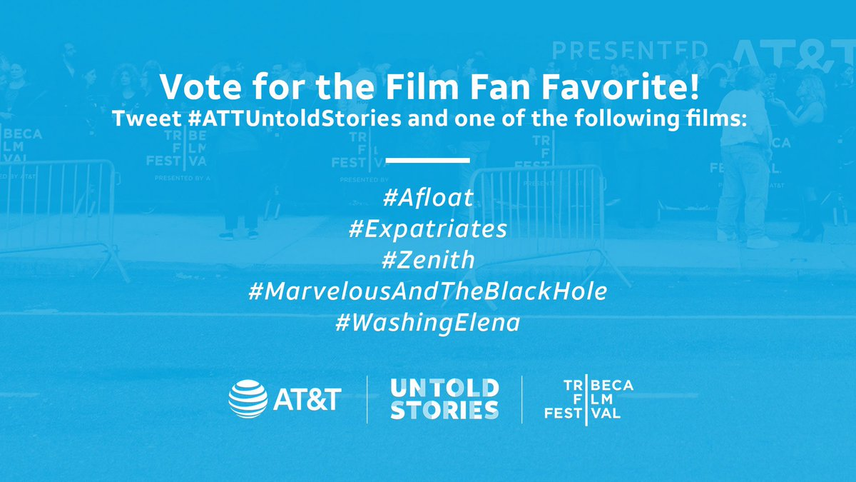 YOUR vote counts! 🙋‍♂️🙋‍♀️  A $50K grant will be awarded to this year's Film Fan Favorite — chosen by audience voting right here on Twitter!  Watch along & tweet your votes to help your fav pitch come to life in film!   Voting is as simple as 👇