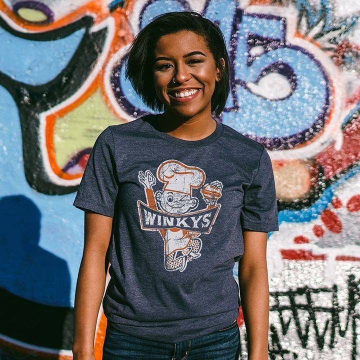 New Pittsburgh line. Winky's was a fast food chain loved for their 15 cent Winky's Hamburger, the Big Wink, hot dogs and other yummy menu items. - #Winkys #fastfood #hamburgers #pittsburgh #pittsburghpa #steelcity #412 #724 #tee #tshirt #shirt #fashion #style #clothing #hist…