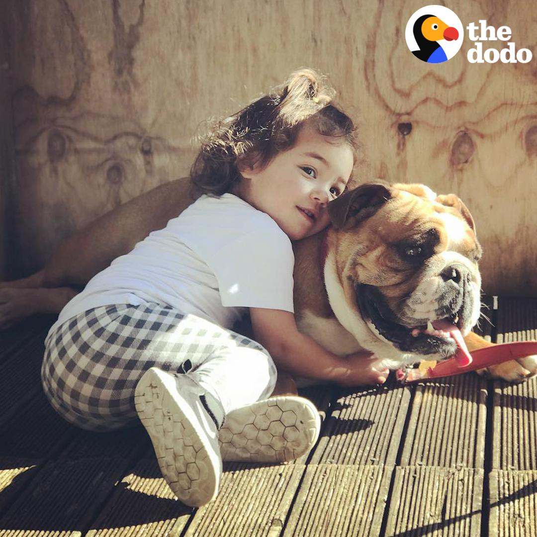 Watch this little girl grow up with her best friend! #Soulmates 🐶💜