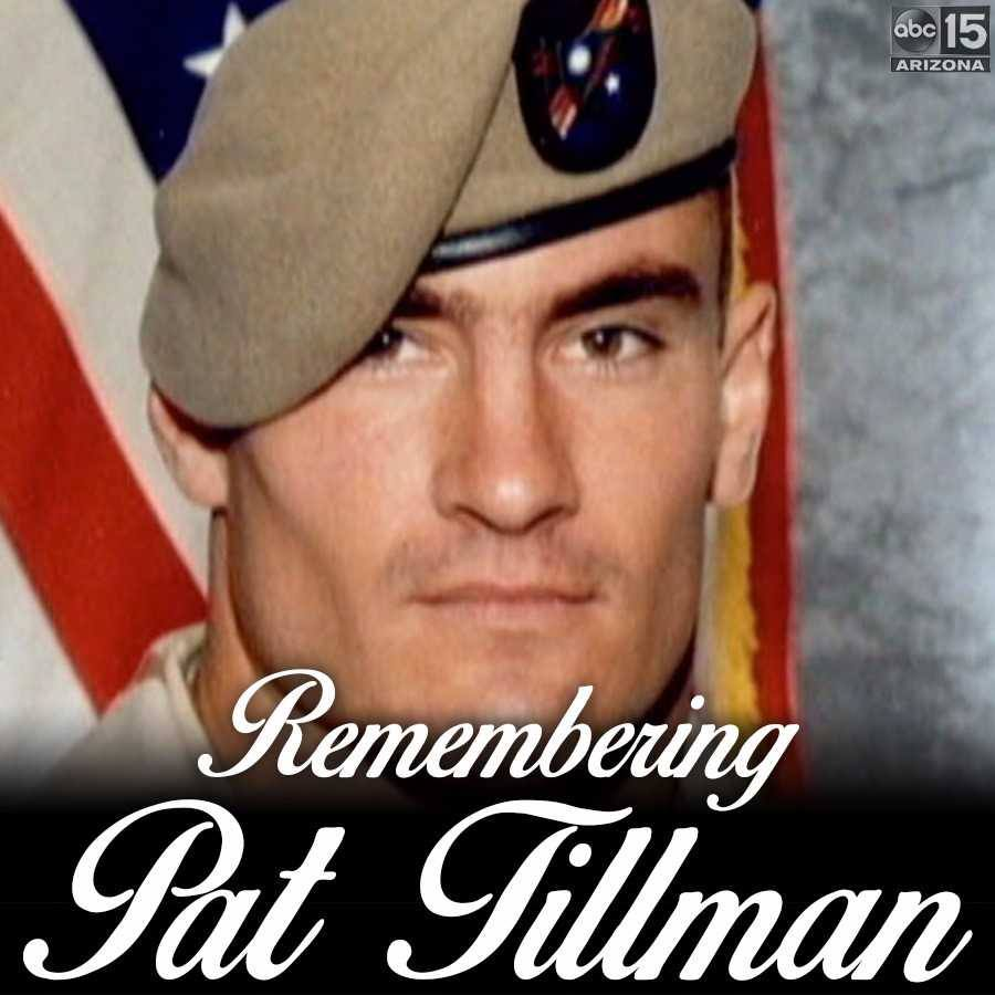 We remember Pat Tillman, who lost his life in 2004 in the line of duty.  Rest in peace.   #RestInPeace #Military #LineOfDuty #ThankYou #ThankYouForYourService #InMemory #NeverForget #abc15<br>http://pic.twitter.com/8VFJQwJwxg