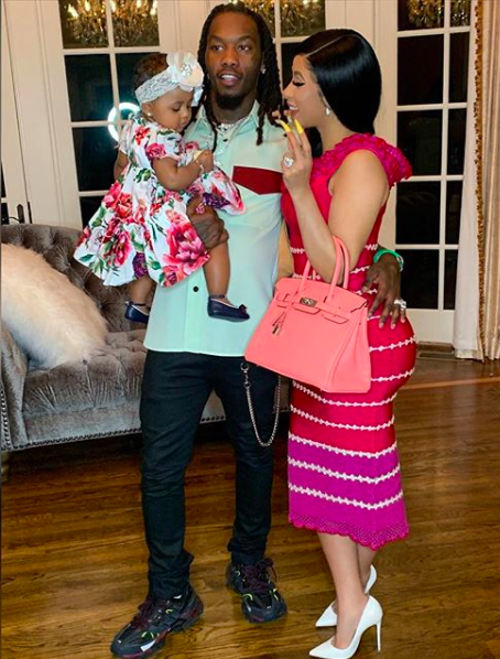 How cute are @OffsetYRN @iamcardib and Kulture?! Loving this Easter shot from the Cephus fam  <br>http://pic.twitter.com/QzIUQlfbiA