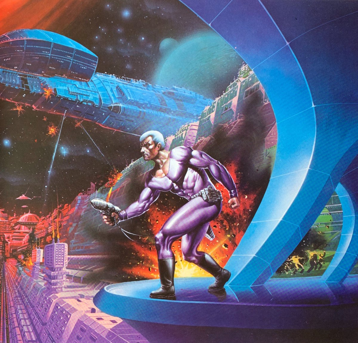 Scifi Art On Twitter Uncredited Illustration From The Immortals Of
