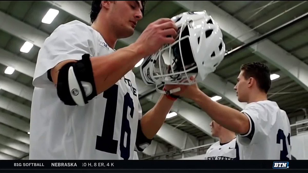 The No. 16 jersey is special to No. 1 @PennStateMLAX.  It was late teammate Connor Darcey's number, and the senior who best exemplifies the qualities of the former goalkeeper gets it.  This year, that honor goes to Chris Sabia.