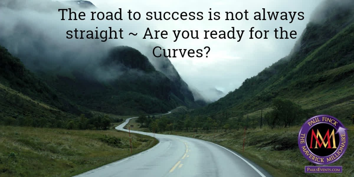 Are you ready for curves on the road to success?  #PaulFinck #Mavericks #DoItDifferent