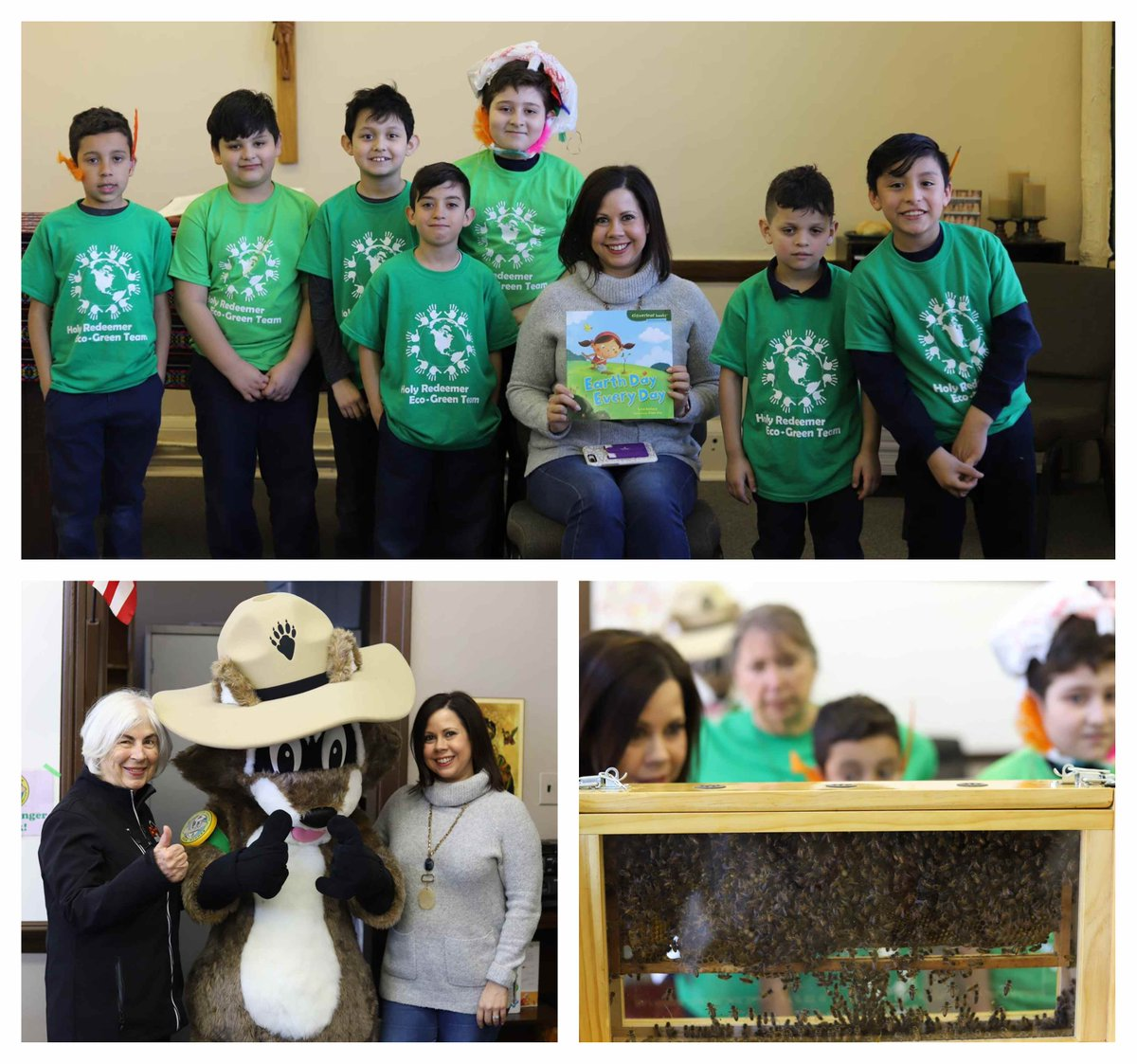 test Twitter Media - Happy #EarthDay!  Holy Redeemer Grade School celebrated by having activities for students to learn how to help promote the environment and ways to protect our Earth. Linzie Venegas, Vice President, read to all the classrooms! https://t.co/rcS55MDH5k