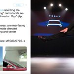 Image for the Tweet beginning: Tesla puts restraining order on