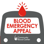 Image for the Tweet beginning: Community Blood Center has declared