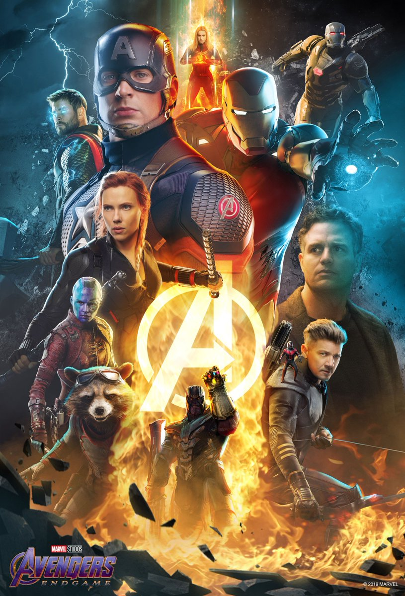 Here's your look at an exclusive poster from @BossLogic, and get it when you purchase your Marvel Studios' #AvengersEndgame tickets on @AtomTickets: https://atm.tk/avengersendgame