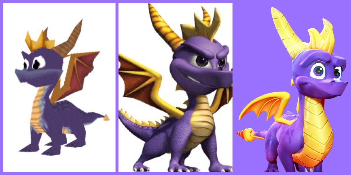 PS1-PS2/GC-PS4/XBO. If Insomniac Games still held onto Spyro, how would he change? Would Spyro be a famous PS Mascot? Would he be slapped onto every PlayStation advertisement? My, how gaming would change IF he was still owned by PlayStation. #Spyro<br>http://pic.twitter.com/SKCGv3tmck
