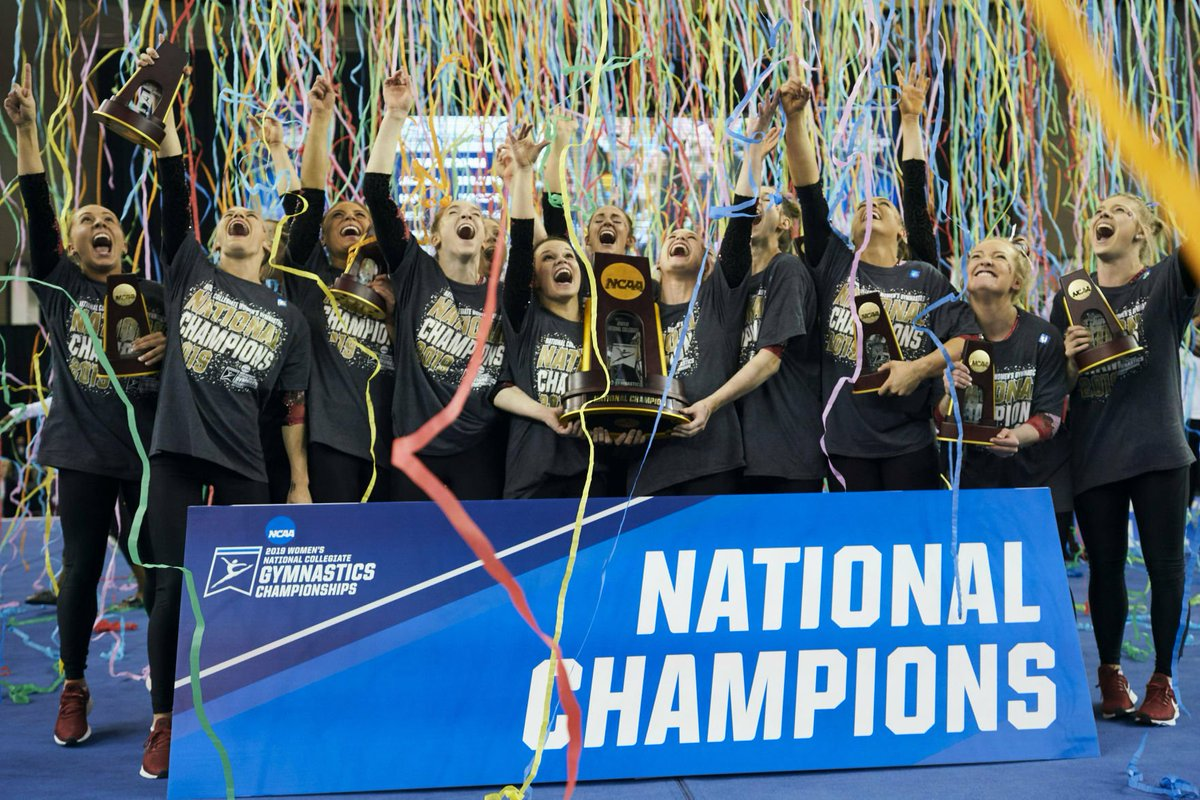 Photo gallery: #Sooners wins fourth national championship in women's gymnastics https://www.tulsaworld.com/sports/photo/photo-gallery-ou-wins-fourth-national-championship-in-women-s/collection_f09eba79-6cc6-58bd-b44a-418d1b5515b7.html#1…