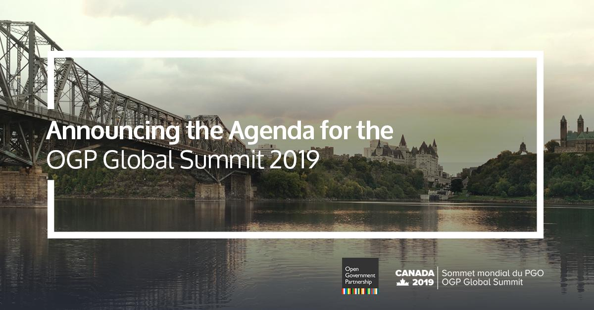 #DYK this year's OGP Global Summit will be held in Ottawa, Canada on May 29-31? We are pleased to announce the agenda for #OGPCanada, which was co-created with the #OpenGov community through an open call for proposals. Learn more about it here: https://bit.ly/2Iwr0WG