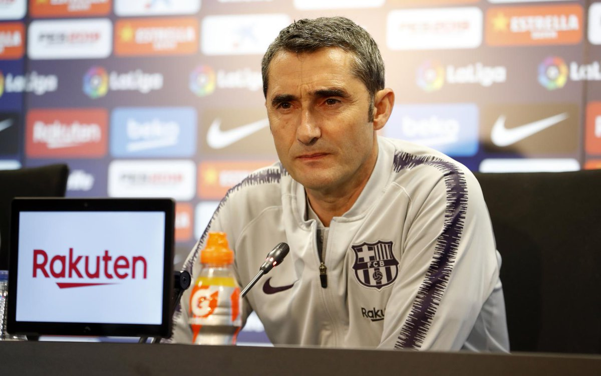 """test Twitter Media - 🔊 Valverde: """"It'll be a tough match. They defend well, and teams like that usually make it difficult for us. It's true they haven't been on the best run, but they're having a great season.""""  #AlavésBarça https://t.co/c2vaBU9JZu"""